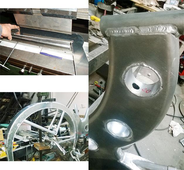 CicloVespa Sidebike telaio grezzo