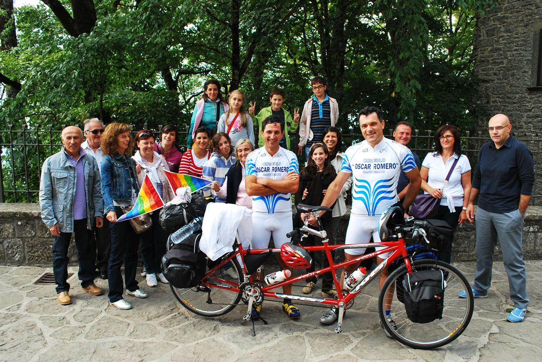 Giro in tandem 2009