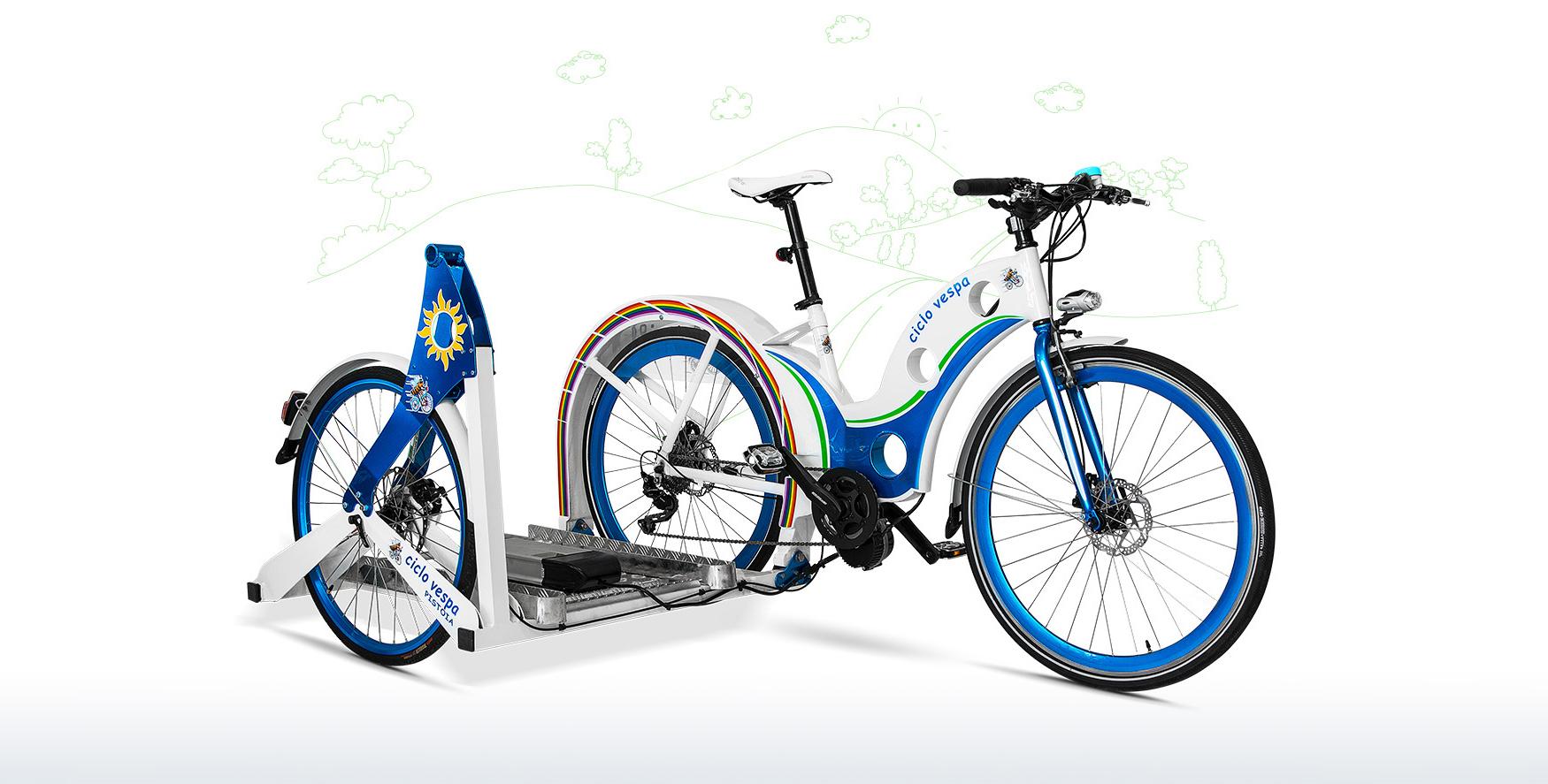 CicloVespa sidebike